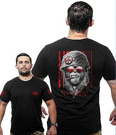 Camiseta Militar Wide Back Sic Semper