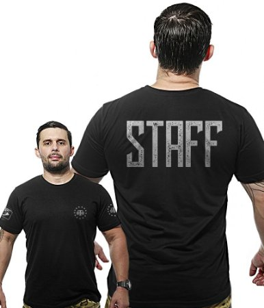 Camiseta Militar Wide Back Staff