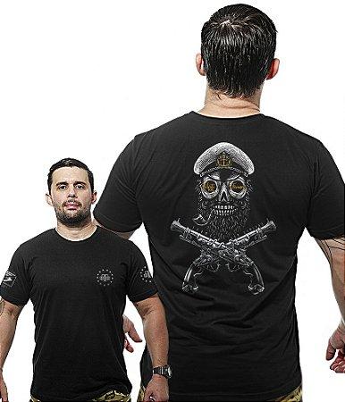 Camiseta Militar Wide Back Morte Aos Tiranos