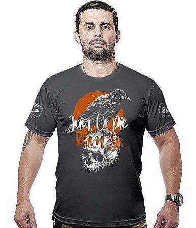 Camiseta Militar Concept Line Team Six  Crow Join Or Die