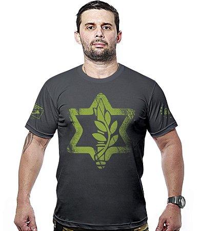 Camiseta Militar Israel Defense Hurricane Line