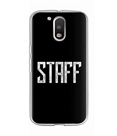 Capa para Celular Staff