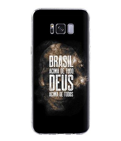 Capa para Celular Brasil Acima de Tudo