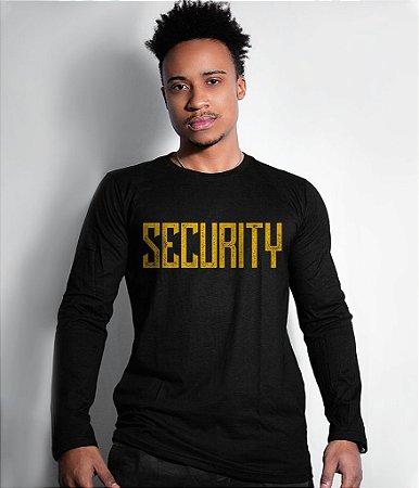 Camiseta Manga Longa Security