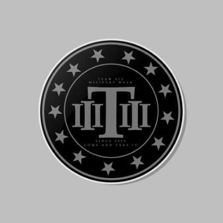 Adesivo Exclusivo Team Six
