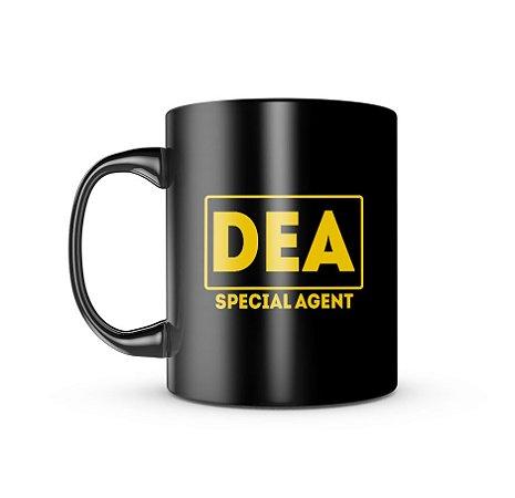 Caneca Dark Militar DEA Special Agent