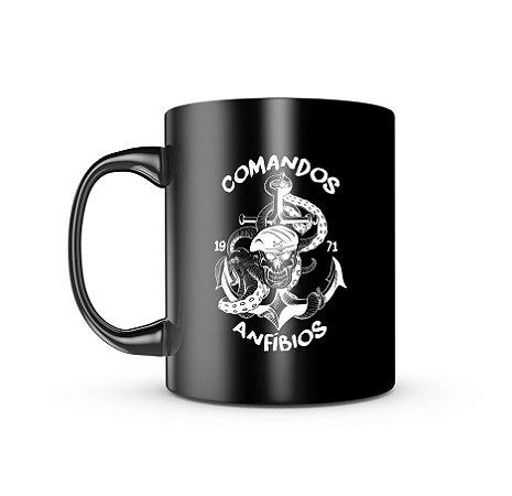 Caneca Dark Militar Comandos Anfíbios