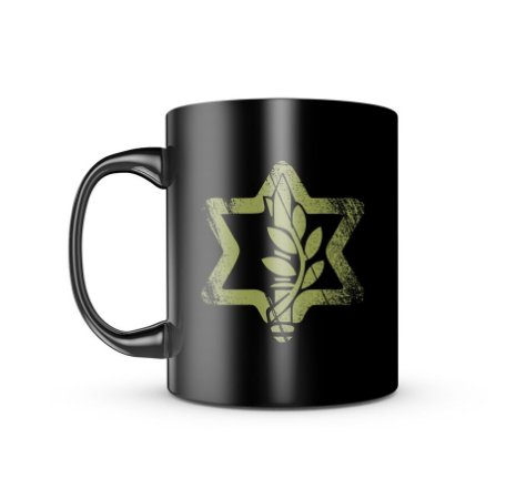 Caneca Dark Militar Israel Defense