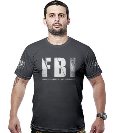 Camiseta Militar FBI Hurricane Line
