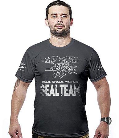 Camiseta Militar Navy Seals Naval Special Warfare Hurricane Line