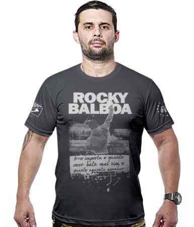 Camiseta Militar Rocky Balboa Hurricane Line