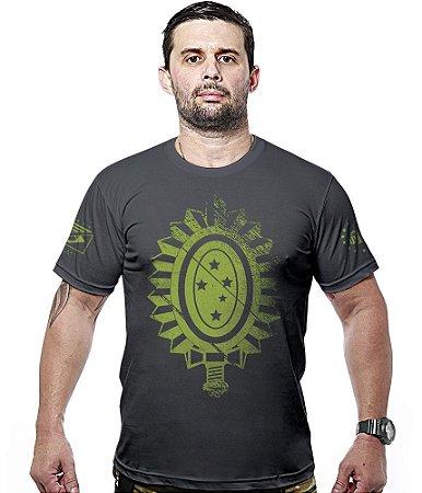 Camiseta Militar Exército Brasileiro Hurricane Line