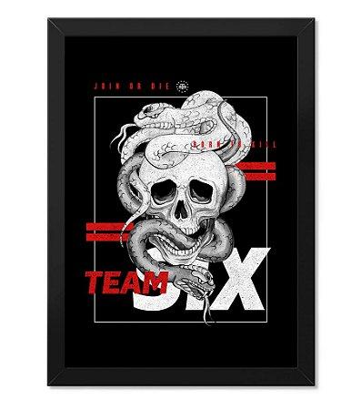Poster Militar Concept com Moldura Born To Kill