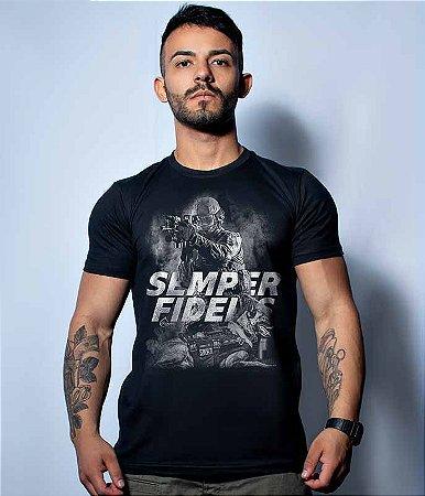 Camiseta Militar k9 Semper Fidelis