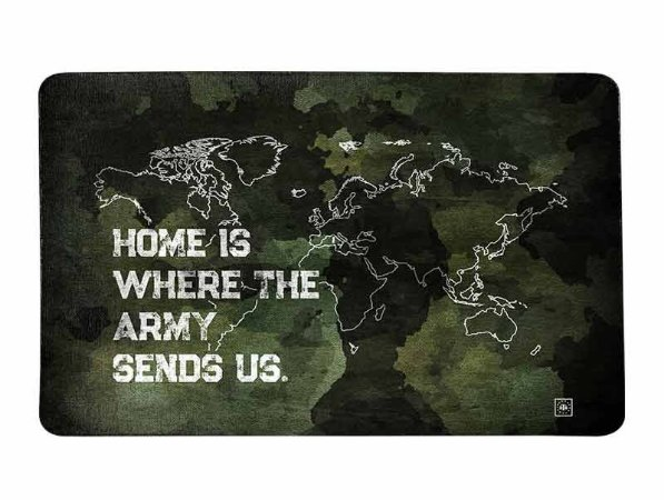 Tapete Militar Home Is Where The Army Send US