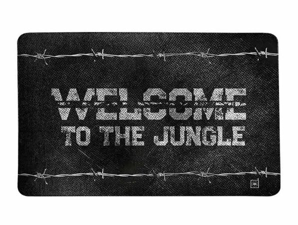 Tapete Militar Welcome To The Jungle