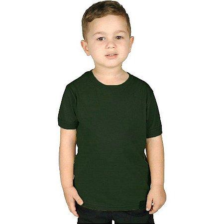 Camiseta Militar Soldier Infantil Verde Bélica