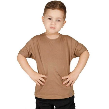Camiseta Militar Soldier Infantil Coyote Bélica