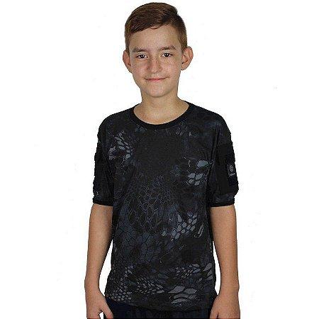 Camiseta Militar T Shirt Ranger Infantil Typhon Bélica