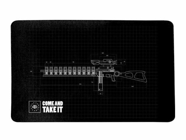 Tapete Militar Grunge Team Six Gun Blueprint Come And Take It