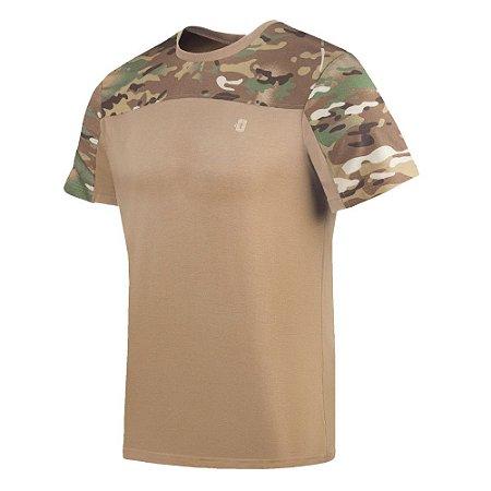 Camiseta Infantry 2.0 Camuflada Warskin Invictus
