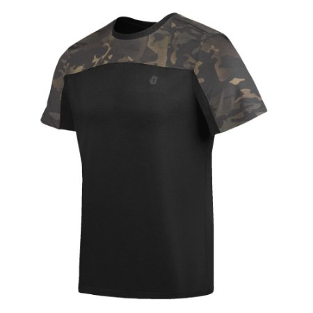 Camiseta Infantry 2.0 Camuflada Warskin Black Invictus