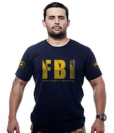 Camiseta FBI Federal Bureal Of Investigation