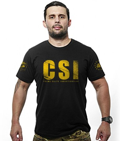 Camiseta CSI Crime Scene Investigation