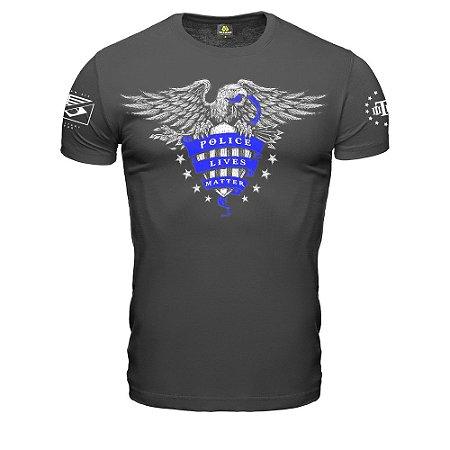 Camiseta Militar Police Live Matter Eagle EUA Team Six