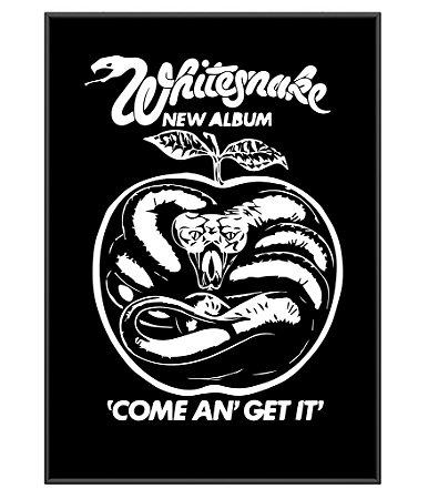 Poster De Rock Whitesnake Come An Get It
