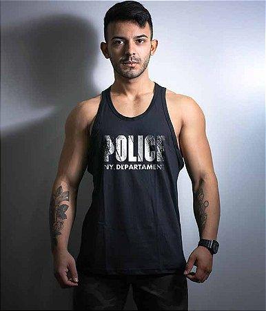 Camiseta Regata Police NYPD