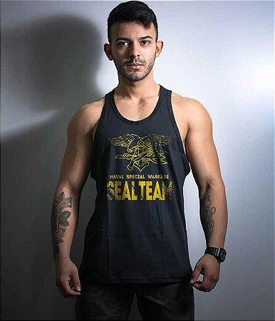 Camiseta Regata Navy Seal Team Six