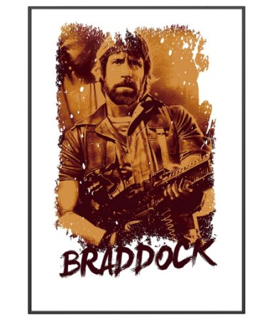 Poster Militar Temático Braddock