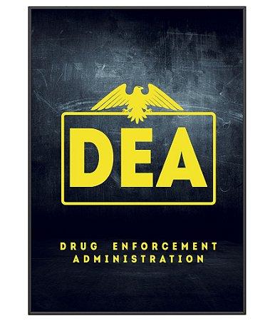 Poster Militar Tematico DEA
