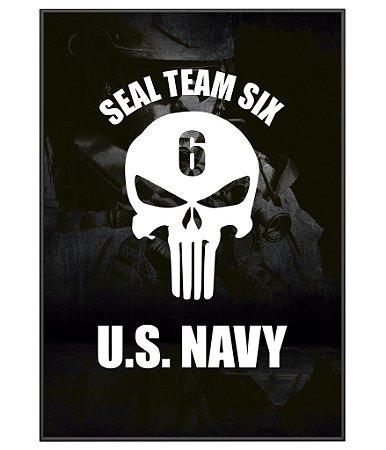 Poster Militar Seal Team Six US Navy