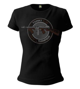 Camiseta Baby Look Feminina Squad T6 Instrutor Fritz Tommy Gun John T. Thompson