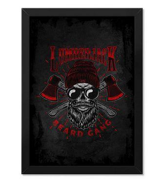 Poster com Moldura Tactical Fritz Lumberjack