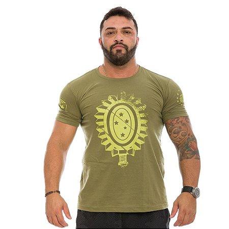 Camiseta Masculina Militar Exército Brasileiro