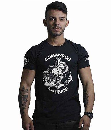 Camiseta Militar Comandos Anfibios COMANF