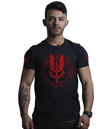 Camiseta Militar Britânica SAS Special Air Service