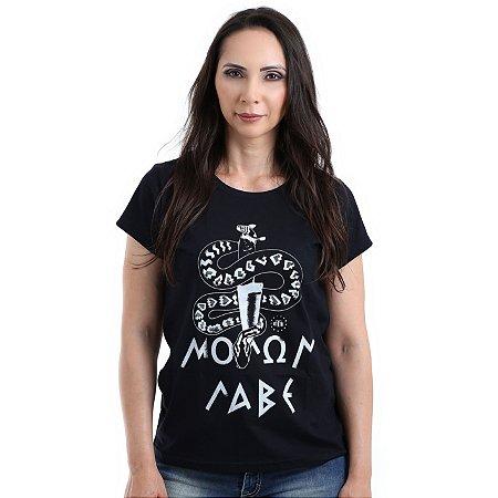 Camiseta Militar Baby Look Feminina Lador Molon labe Crotale Team Six