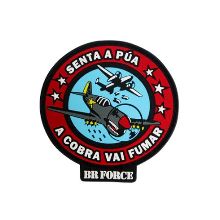 Patch Esquadrilha Invictus BR FORCE