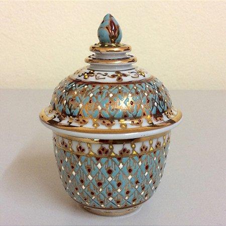 Porcelana Tailandesa Colecionável 2,5 x3.5 polegada
