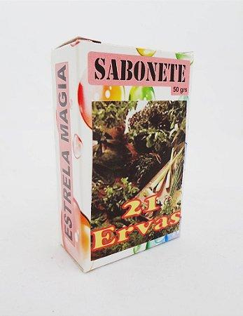 Sabonete - 21 Ervas