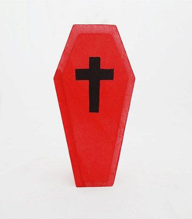 Caixão - Vermelho