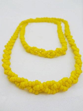 Brajá - Trançado Amarelo 3 Fios