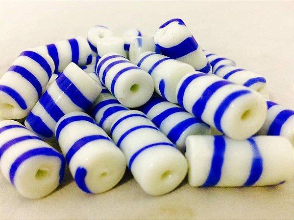 Firma - Bicolor Azul/Branco Unidade