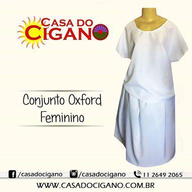 Conjunto Oxford Feminino