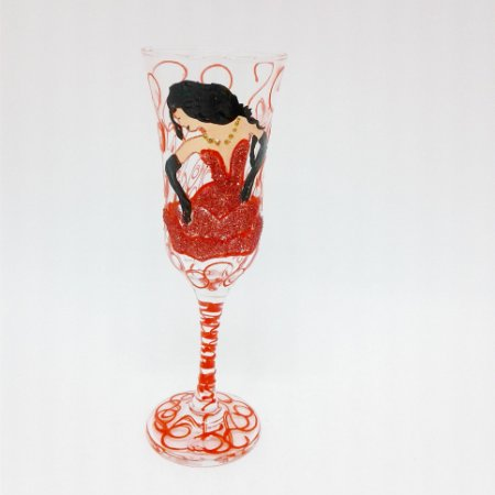 Taça - Pomba Gira Vermelha