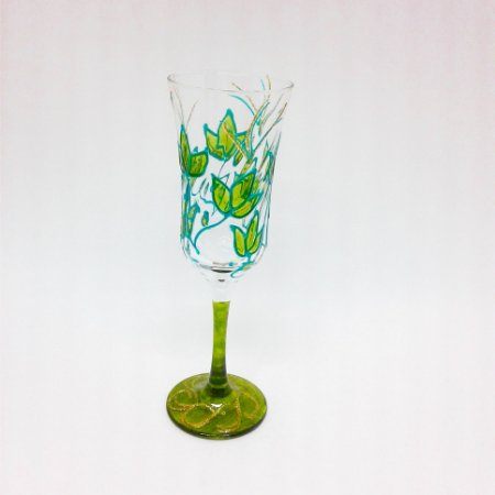 Taça - Folhas Verde